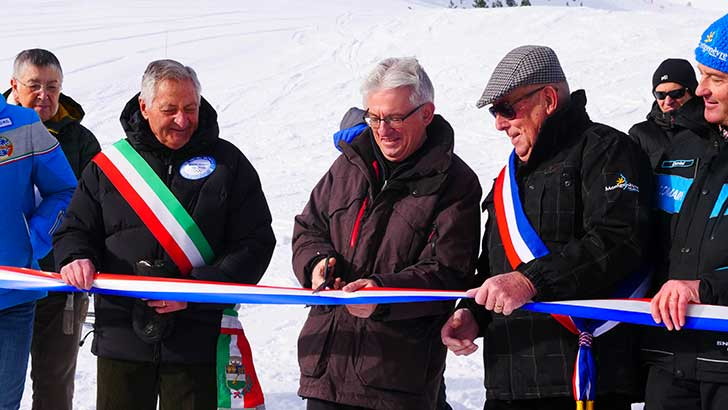 Photo de Montgenèvre inaugure son réseau de neige de culture