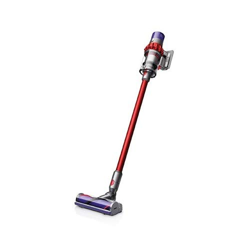 Photo of Dyson Cyclone V10 Motorhead Aspirateur Balai sans Fil et sans Sac, Nickel, Rouge