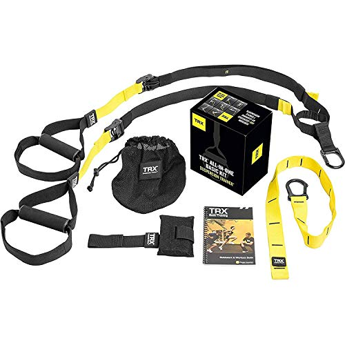 Photo of TRX Sangle de suspension Noir/Jaune