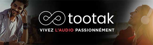 Photo de Lancement de tootak, appli française dédiée à l'univers de l'audio à la demande