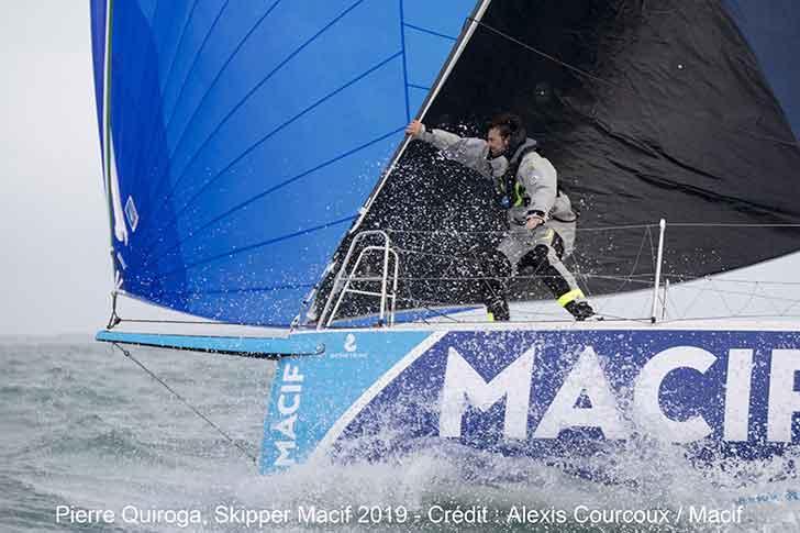 Photo of Départ des skippers Macif sur la 50ème édition de La Solitaire URGO Le Figaro