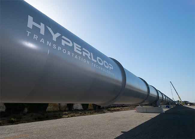 Photo de Premiers résultats de l'étude d'Hyperloop Transportation Technologies