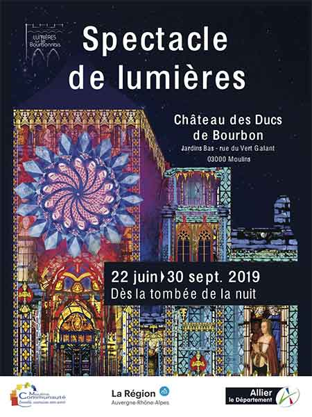 Photo de Spectacle de lumières – sur le chemin des Bourbons