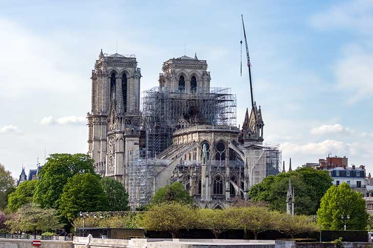 Photo de Notre-Dame de Paris : le préfet autorise la reprise des travaux du chantier