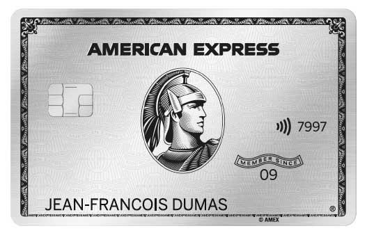 Photo de American Express lance sa nouvelle carte Platinium