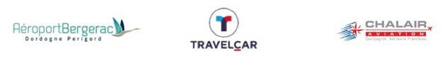 Photo de TravelCar, l'aéroport de Bergerac et la compagnie aérienne Chalair : un partenariat fructueux