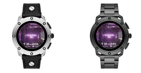 Photo de Diesel dévoile sa nouvelle montre connectée à écran tactile