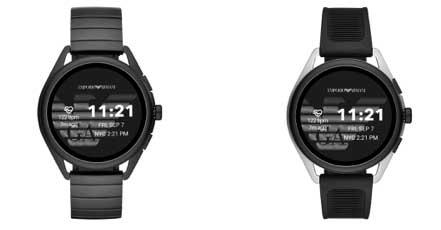 Photo de Emporio Armani lance la 3e génération de sa montre connectée