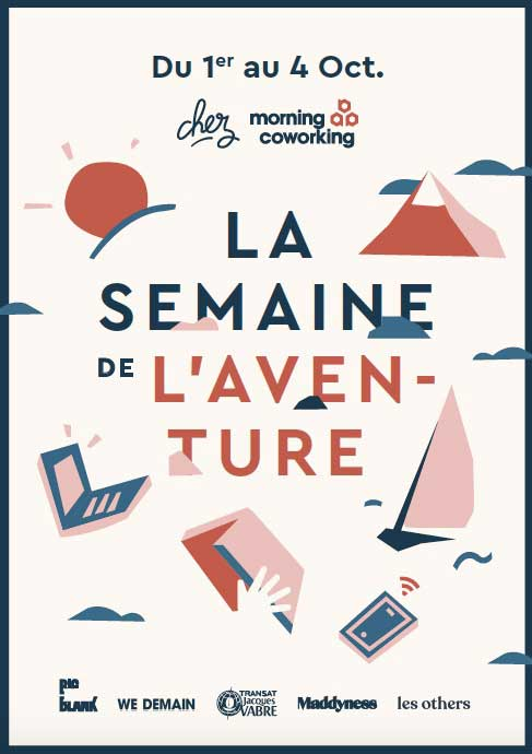 Photo of La semaine de l'Aventure chez Morning Coworking