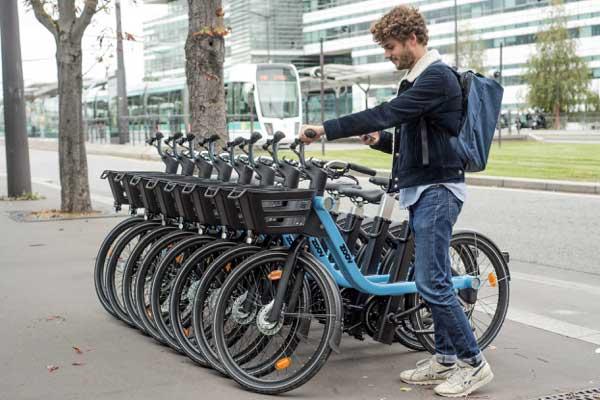 Photo of Lancement du service de vélos électriques en libre-service Zoov en Métropole Bordelaise