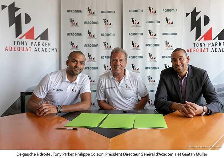 Photo of Acadomia s'engage avec la Tony Parker Adéquat Academy pour la réussite des jeunes passionnés