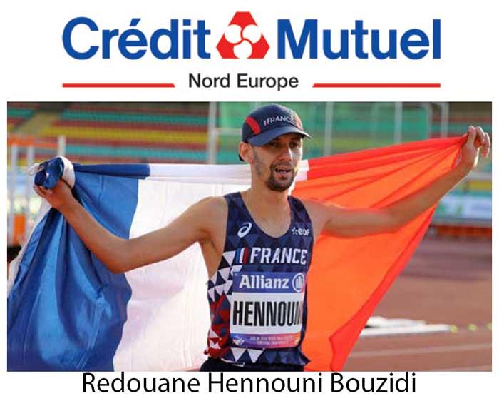 Photo de Le Crédit Mutuel Nord Europe accompagne Redouane Hennouni Bouzidi