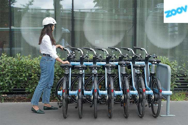 Photo of Zoov dévoile la première technologie brevetée de transfert d'énergie entre vélos
