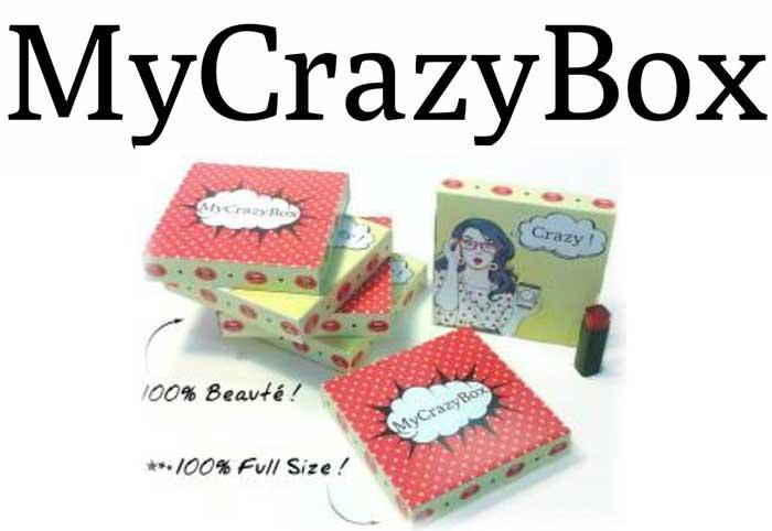 Photo de My Crazy Box : la box de maquillage la moins chère du marché