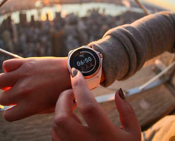 Photo de PUMA lance sa première montre connectée