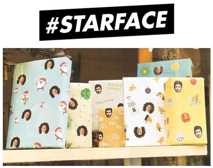Photo of #STARFACE lance de nouveaux papiers cadeaux à personnaliser