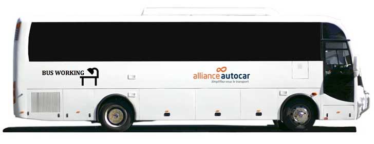 Photo of Lancement du premier Bus Working pour les grèves