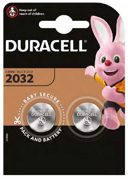 Photo de Duracell lance la première pile bouton au lithium au goût amer
