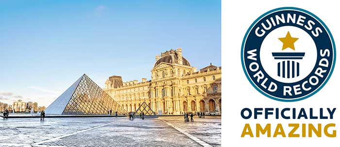 Photo de Le Musée du Louvre fait son entrée au Guinness World Records