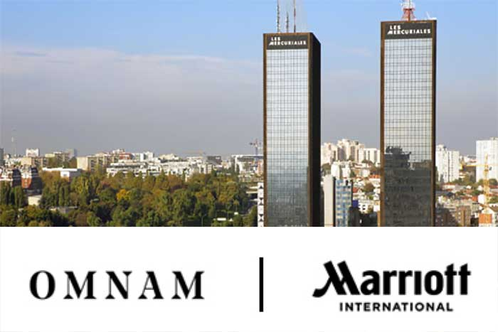 Photo de Omnam Group & Marriott International : deux hôtels totaliseront 842 chambres à Paris