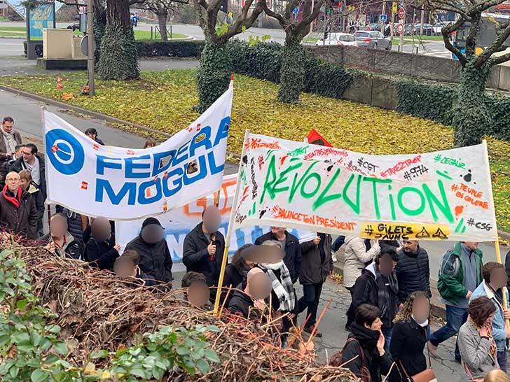 Photo de Manifestation contre la réforme des retraites à Orléans