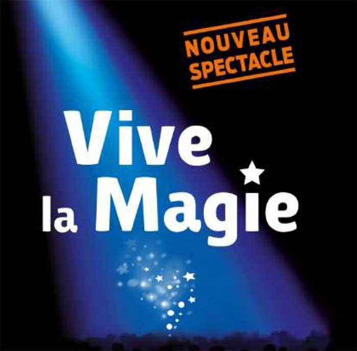 Photo de Tours accueille «Vive la magie» les 4 et 5 janvier 2020