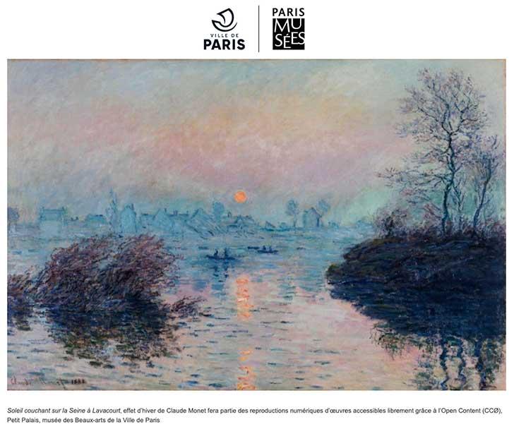 Photo of Open Content : plus de 100 000 œuvres des collections des musées de Paris en libre accès