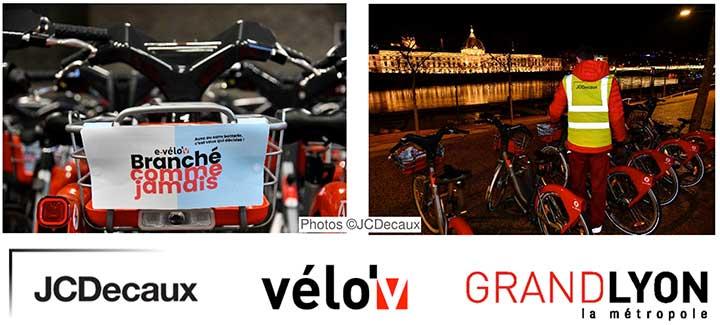 Photo de Lancement du nouveau service e-Vélo'v dans la Métropole de Lyon