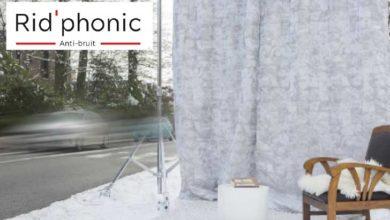 Photo de Rid'phonic lance des rideaux anti-bruit nouvelle génération