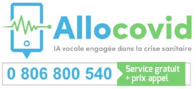 Photo de Covid-19: lancement d'AlloCOVID