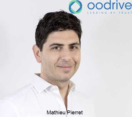 Photo of Oodrive nomme Mathieu Pierret au poste de Head of Engineering