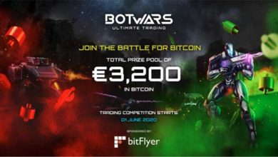 Photo de bitFlyer Europe et Quazard lancent le jeu Botwars