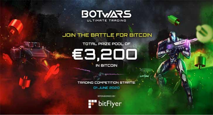 Photo de bitFlyer Europe et Quazard lancent le jeu Botwars