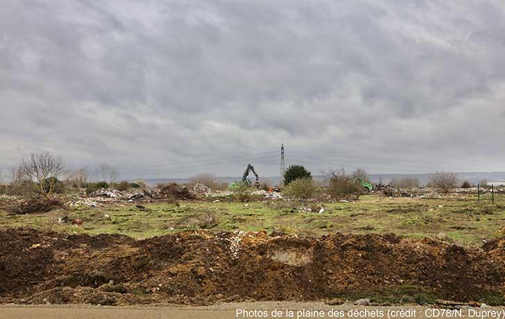 Photo of Décharge sauvage de Carrières-sous-Poissy : près de 65% des déchets ont été nettoyés