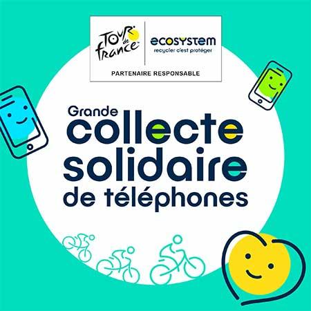 Photo de ecosystem organise une collecte nationale de téléphones et smartphones usagés