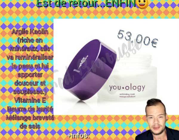 Photo de Masque Exfoliant : reminéralise la peau