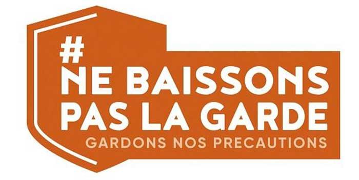 Photo de #NeBaissonsPasLaGarde : une campagne de communication mondiale pour un déconfinement réussi et serein