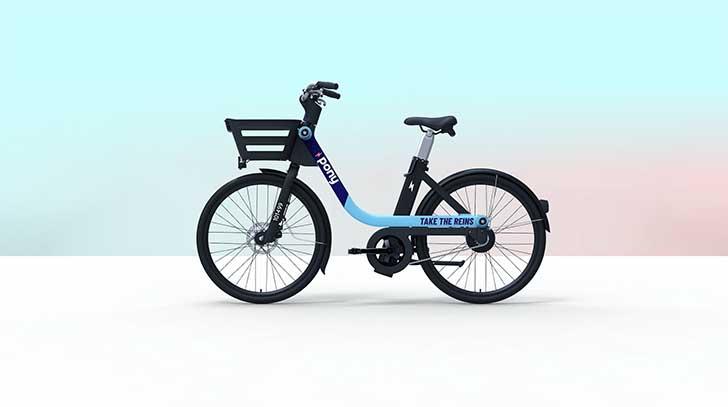 Photo de Pony lance un programme pilote avec les vélos électriques Zoov