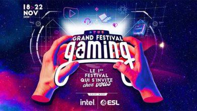 Photo de Le grand festival gaming s'invite chez vous du 18 au 22 novembre 2020